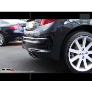 MILLTEK - Peugeot 207 GTI THP - Ligne Complète avec catalyseur Sport Hi-Flow- Avec silencieux Intermediaire