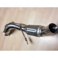 Downpipe 318d 320d E9x FAP Inox N47