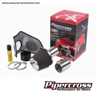 Kit complet admission PIPERCROSS, avec mousse polyuréthane - Audi A3 Mk1 S3 1.8 20v Turbo