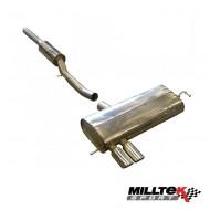 MILLTEK - AUDI S3 1.8T Quattro 8L - Remplacement catalyseurs