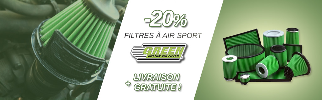 Filtre a air green