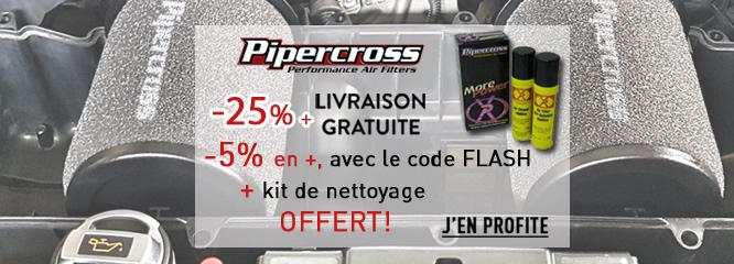 Filtres à air sport Pipercross